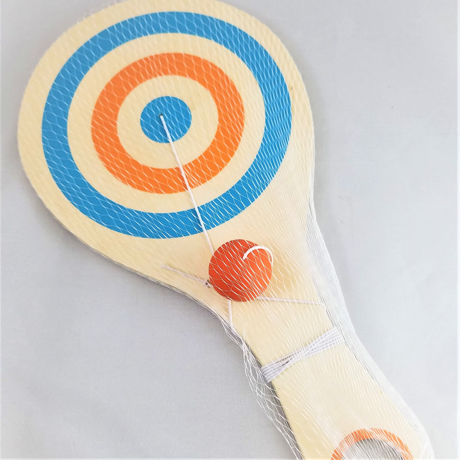 Bounce-Back Paddle Ball