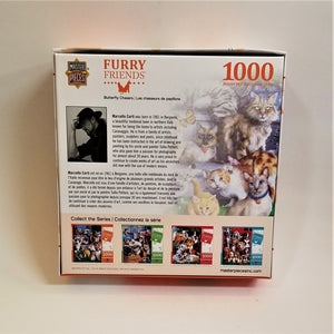 Furry Friends Feline Jigsaw Puzzle