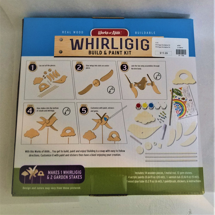 Build-Your-Own Whirligig