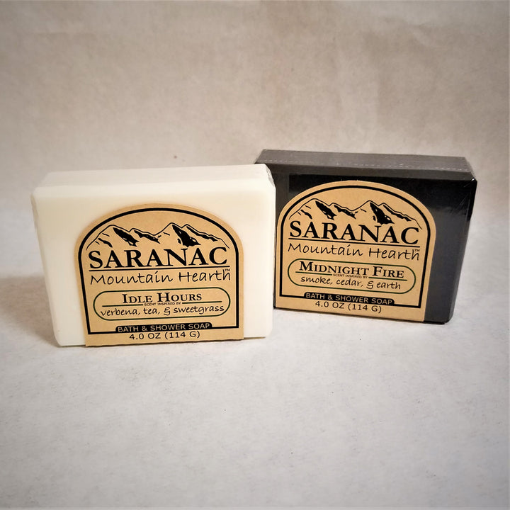 Saranac Mountain Hearth Bath & Shower Soap