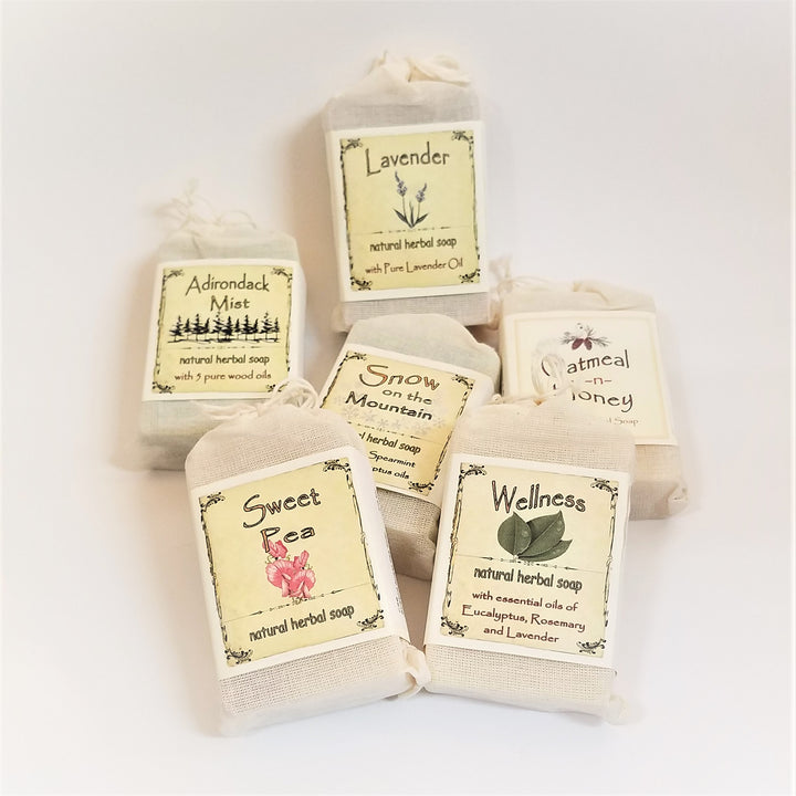 Bar Soaps from the Blue Bird Candle Company