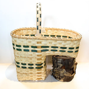 Stair Basket by Northwoods Basketweaver