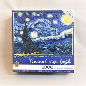 Vincent Van Gogh Starry Night Puzzle