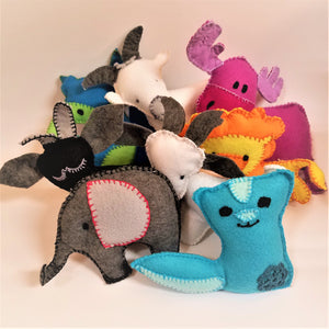 Handsewn Stuffed Animals