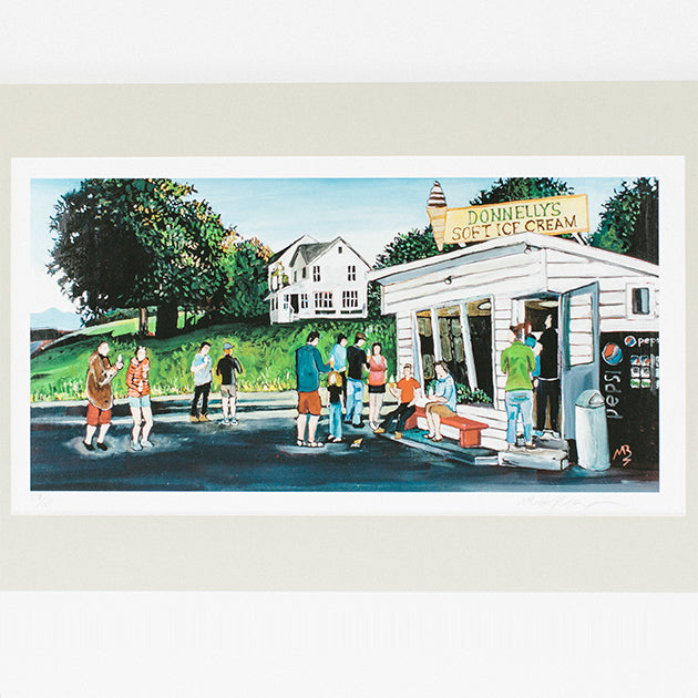 Signed Taste of Summer print by Matt Burnett