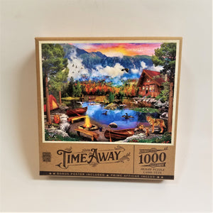 Sunset and Canoes Puzzle