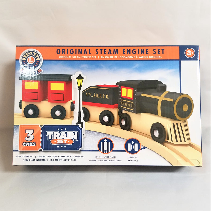 Original Steam Engine Toy Train Set