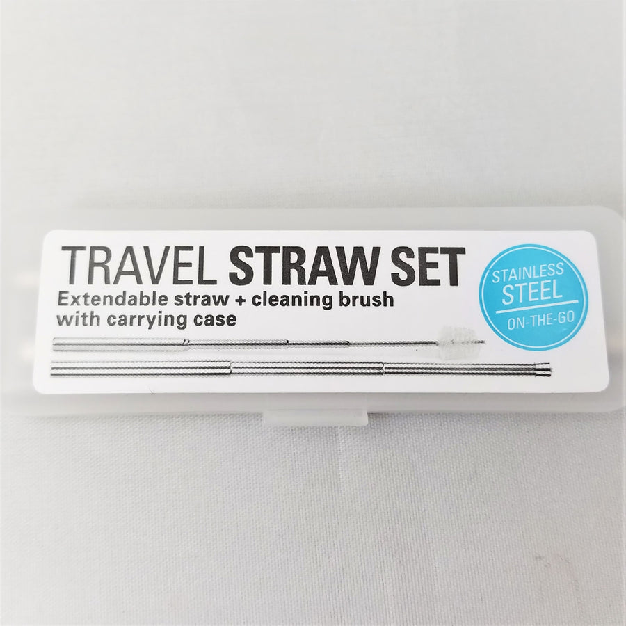 Travel Straw Set