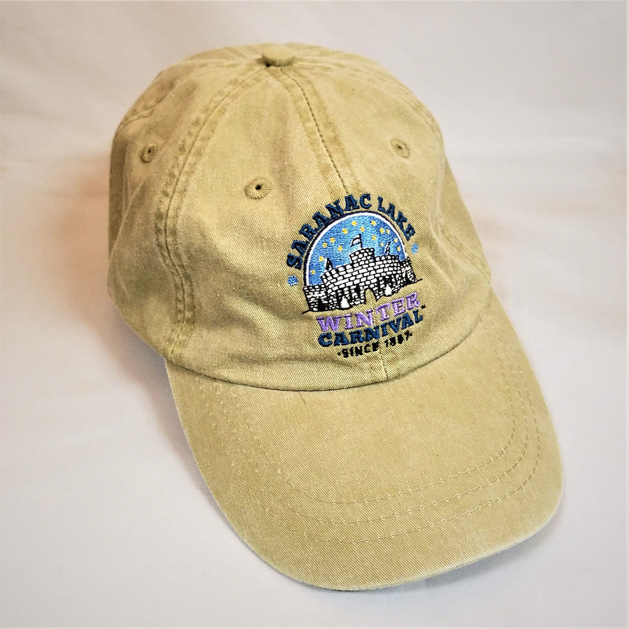 Winter Carnival Tan Baseball Cap