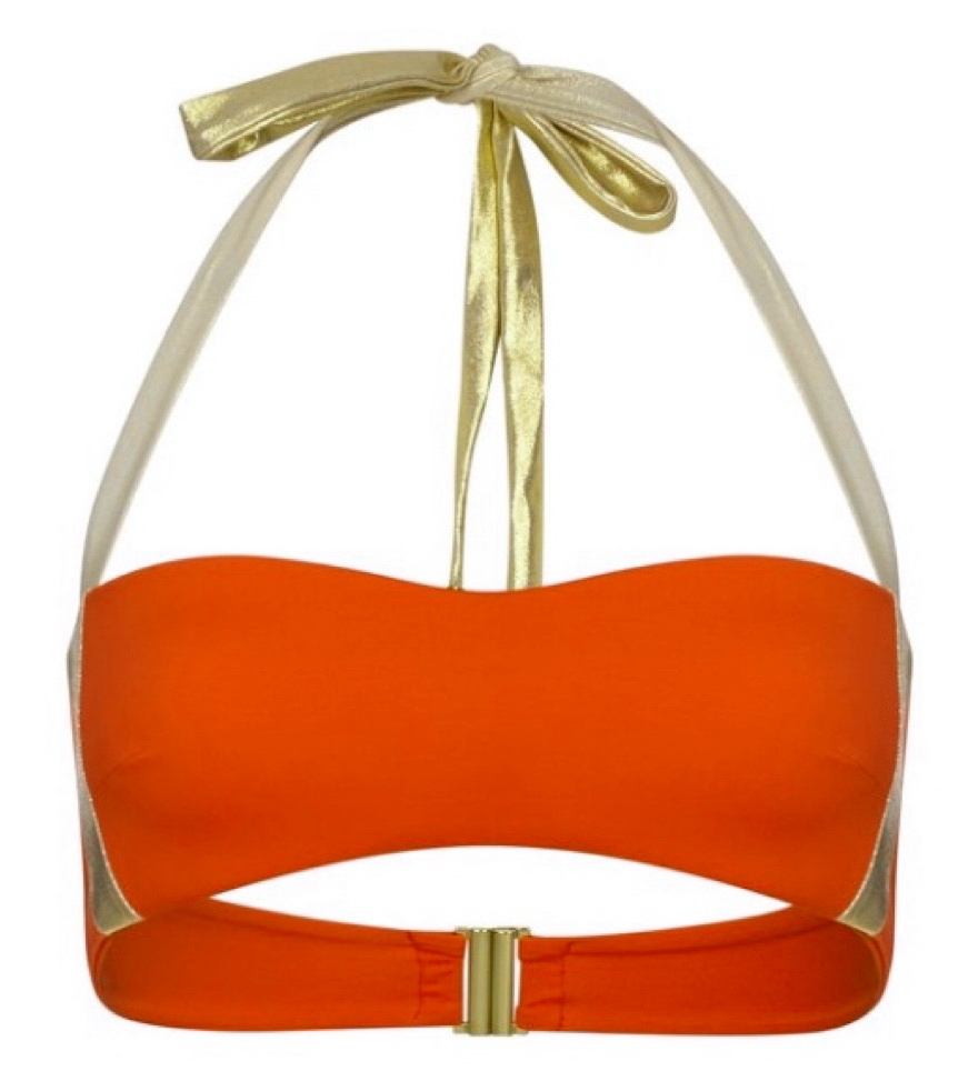 Swanky Top - Tangerine Orange