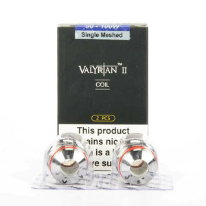 UWELL VALYRIAN 2 II Replacement Coils Atomizers Single, Dual, Triple Mesh & QUAD