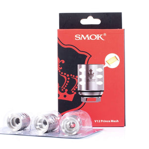 SMOK TFV12 PRINCE MESH Coils Atomizers Burners at 60w - 70w Authentic/Genuine