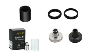 Aspire Nautilus X Seals / Drip Tip / Top Base / 4ml Adapter Extension Parts