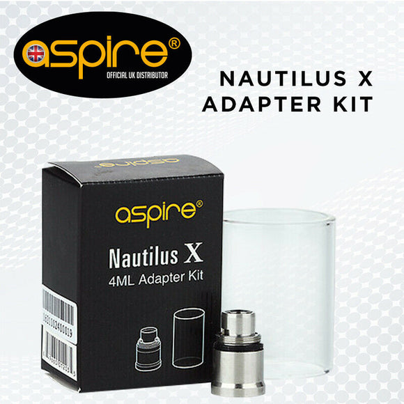 Genuine Nautilus Xs Adapter Kit Glass Extension for Aspire nx30 kit or xs tank