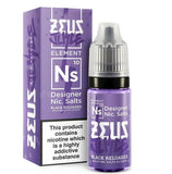 ZEUS Juice Nic Salts Dimpleberry Black Reloaded Dodoberry 10mg 20mg 10ml UK