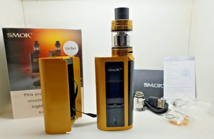 SMOK GX2/4 Kit 350W MOD with TFV8 Big Baby Tank E-cig Genuine UK Alien Red Gold