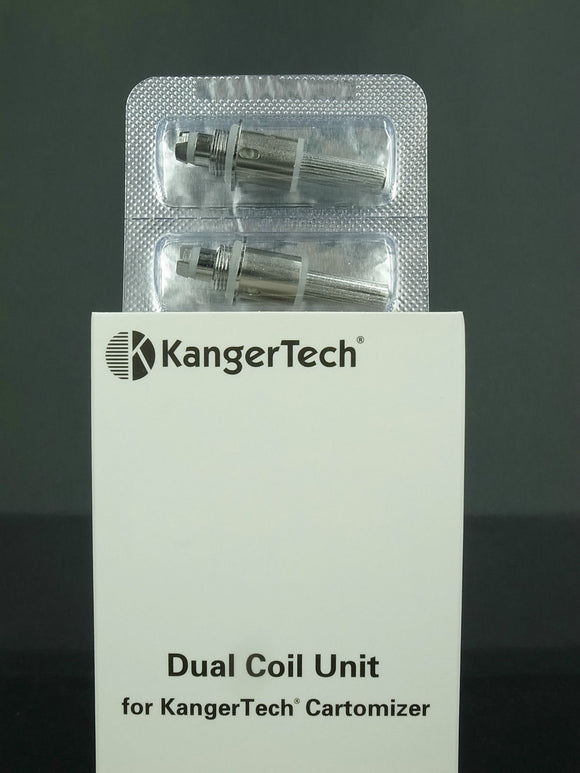5 x 1.5 OHM DUAL COILS For Various Kanger tanks (protank 3 / mini, geni, aero)