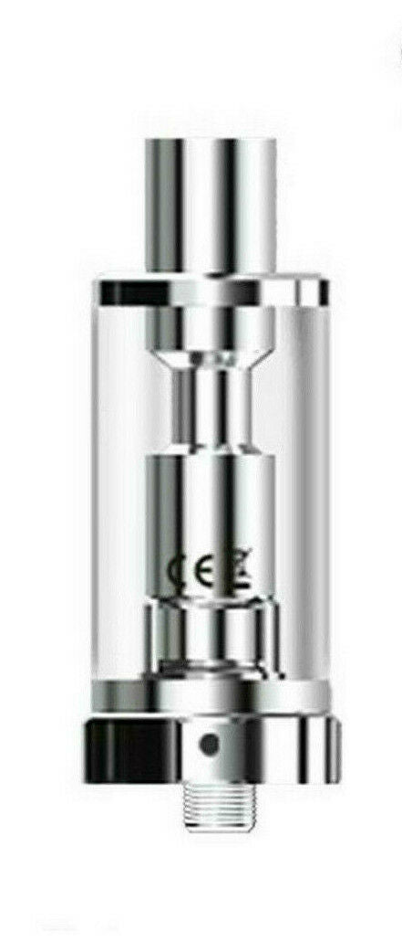 ASPIRE K3 Replacement Tank Silver/ Black, Genuine Spare Tanks with Code, UK 2ml