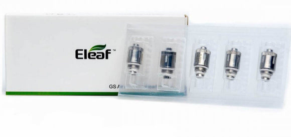 5 x GS Air 2 Coils Atomizer Head 0.75 Ohm Genuine eLeaf Ismoka Dual Coil Replace