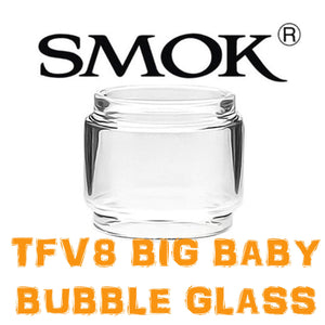 SMOK TFV8 BIG BABY Fatboy Bubble Bulb Extended Replacement Vaping Glass UK