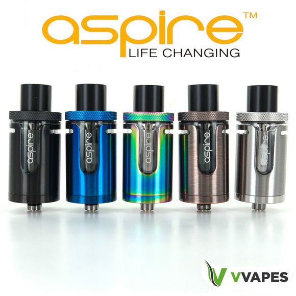 AUTHENTIC Aspire Cleito EXO Tank Rainbow Black Blue Silver EXO Coils 0.16 Ohms