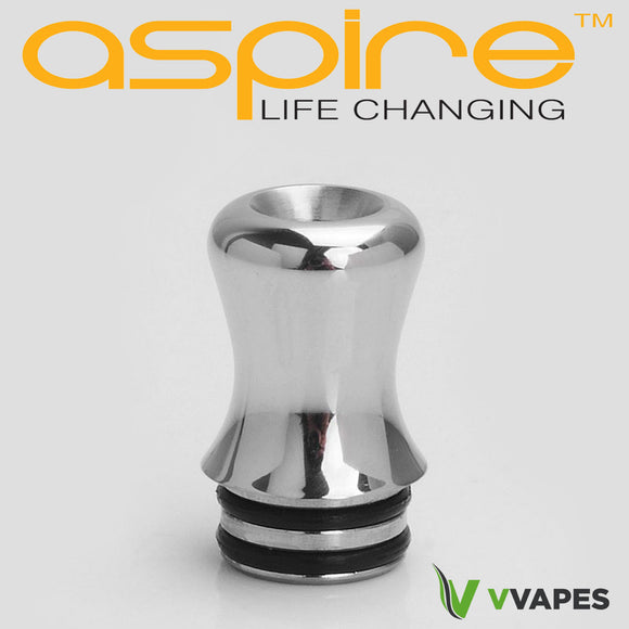 Aspire Nautilus 2 drip tip SILVER STAINLESS STEEL Genuine 510 universal fitting