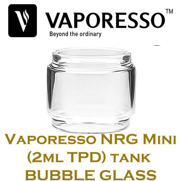 Vaporesso NRG Mini 2ML Fatboy Bubble Bulb Extended Replacement Vaping Glass UK
