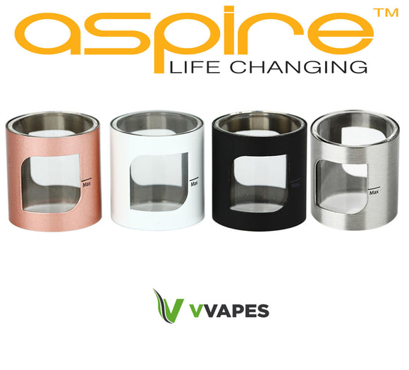 Aspire Pockex Replacement Tube Glass Pocket X Rainbow Black Rose Gold Blue Blue