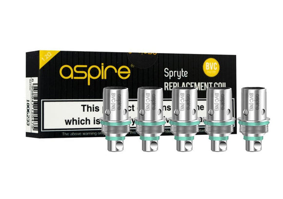Aspire Spryte Coils REPLACEMENT for Spryte AIO Pod Kit 1.2 Ohms COIL Heads NS UK