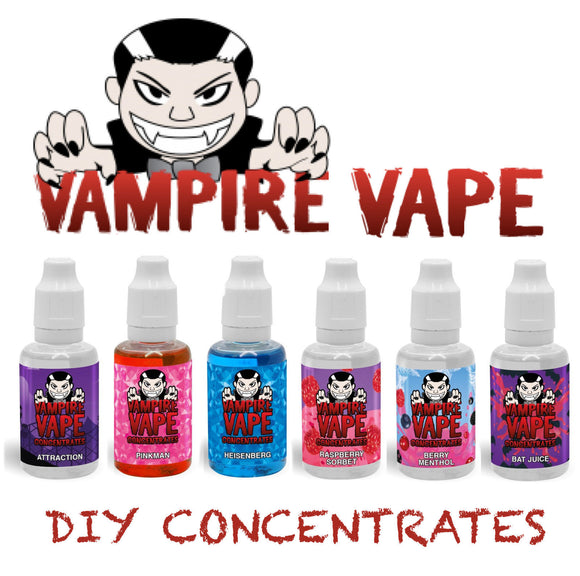 Vampire Vape 30 ml concentrate for e-liquids Heisenberg Pinkman Flavour Cheapest - Free Postage