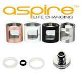 Aspire Pockex Replacement Parts Seals Glass Drip Tip Top Base Bubble Glass Coils