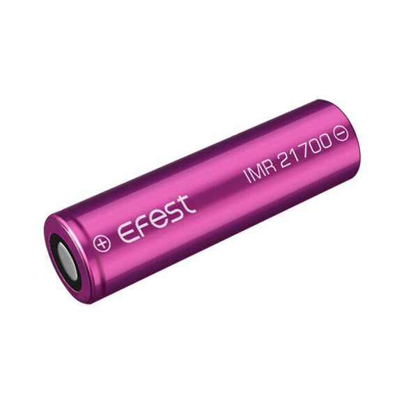 1 x Rechargeable Battery 21700 IMR 5000 mAH 10A 3.7V Purple UK