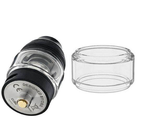 GLASS for OBS CUBE MINI BUBBLE - FATBOY UK VAPE 2ML EXTENSION