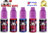Vampire Vape e-liquid Cheapest UK Supplier - 3 X 10ml bottles for £7 including postage