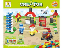 Load image into Gallery viewer, 468 piece Creator Building Block Set in Storage Case