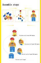 Load image into Gallery viewer, Tipping Dump Truck Construction Building Block Set