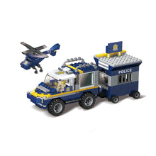 Load image into Gallery viewer, Police Force, Boat & Car, Building Block Set