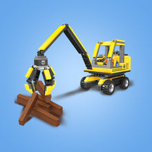 Load image into Gallery viewer, Forklift & Log Loader Construction Building Block Set