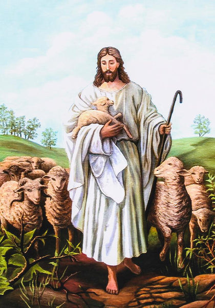 Jesus and His Lambs