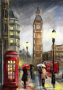 A Day in London Painting Kit - ThePaintingSociety.com