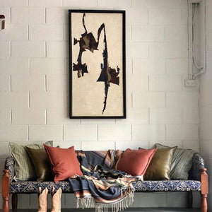 MID-CENTURY MODERN FRAMED ARTWORK