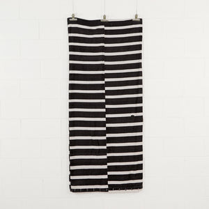 BLACK AND WHITE FRENCH MATTRESS COVER