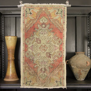 ORNATE TURKISH PRAYER RUG