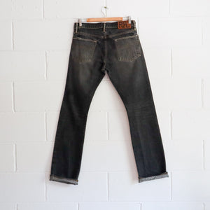 RRL BLACK DENIM JEANS 30W
