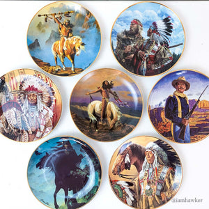 FRANKLIN MINT HERITAGE MUSEUM COLLECTOR PLATES