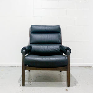 DANISH ROSEWOOD CHAIR IN BLACK
