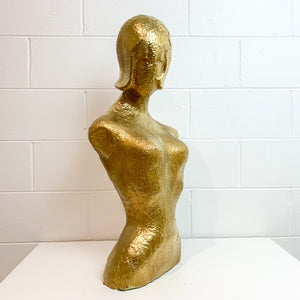 1950S GOLD FEMALE BODY FORM