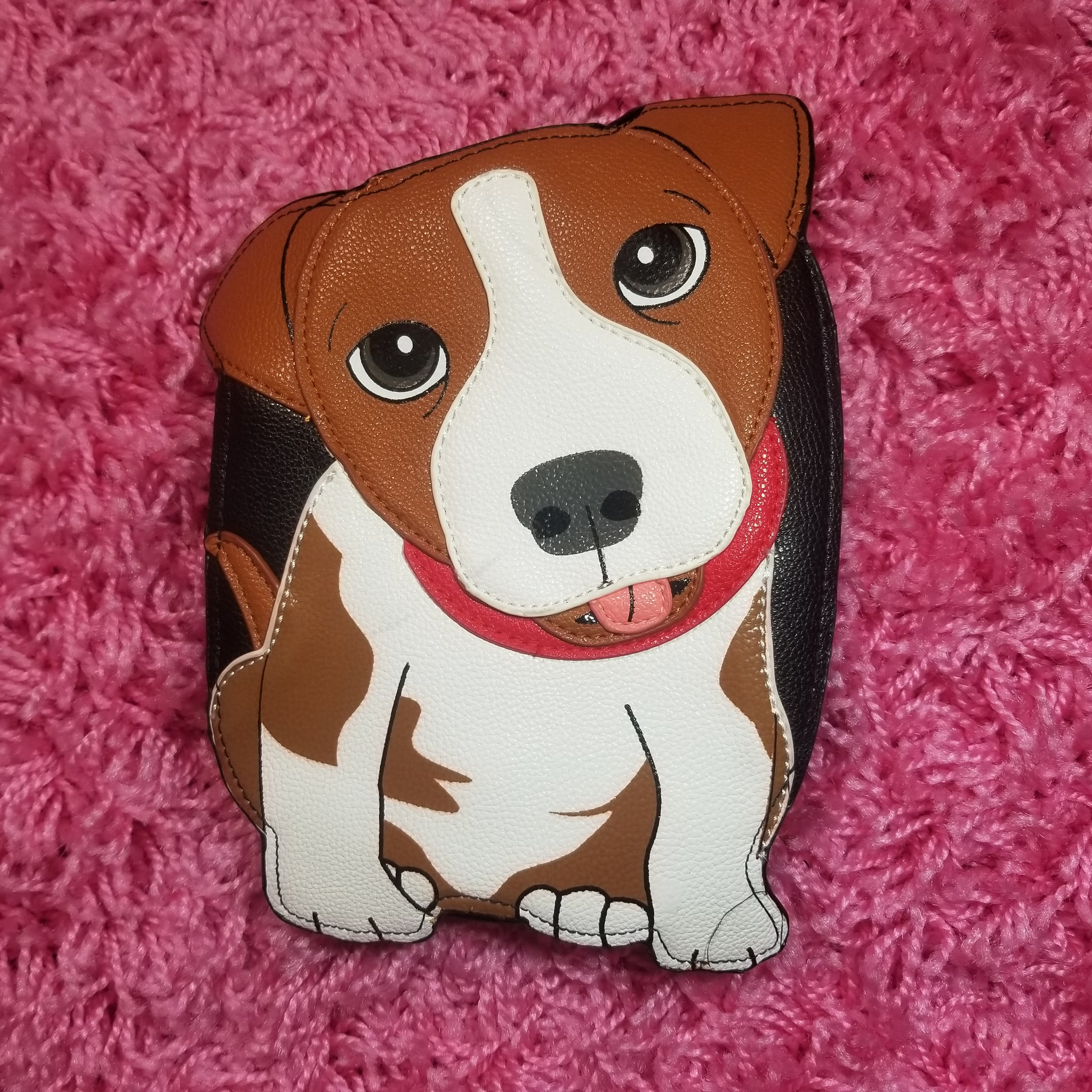 Beagle Puppy Crossbody Purse
