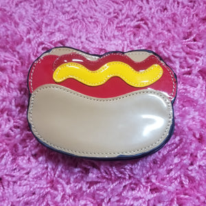 Hot Dog Foodie Novelty Coin Purses