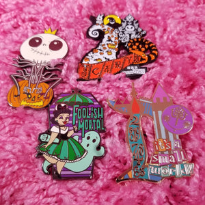 Happiest Place on Earth Pins